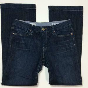 Gap 1969 Womens Long & Lean Jeans Sz 30/10R
